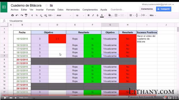 Pasos para crear el Cuaderno de Bitácora