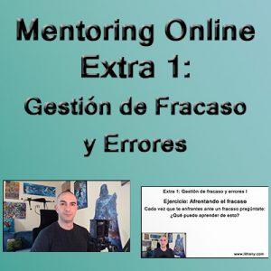Mentoring Online. Extra 1: Curso Gestión de Fracaso y Errores